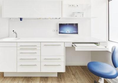 Zahnarztpraxis Stefan Koller, Behandlungsraum