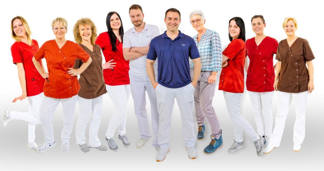 Das Praxisteam der Zahnarztpraxis Kaufbeuren